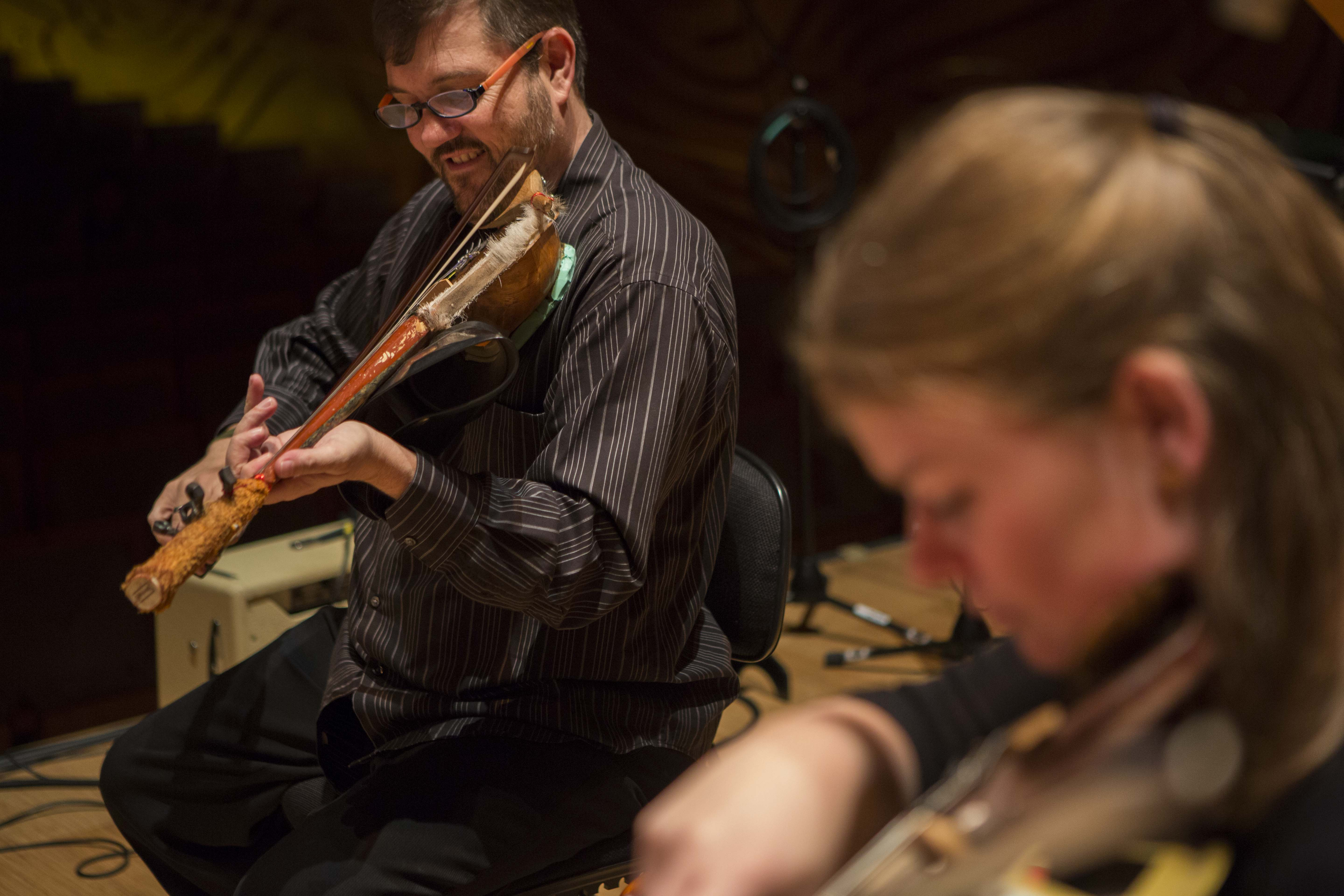 Graeme Jennings and Phoebe Green, ELISION strings
